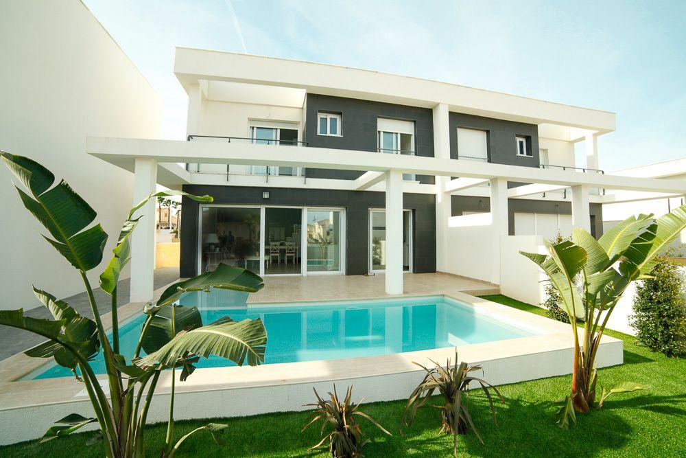 Costa Blanca South - Modern desgin villas with garden and underground in Gran Alacant 1