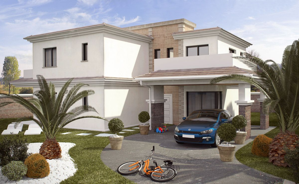 3 bedroom villa with private 370 sqm plot in Gran Alacant 6