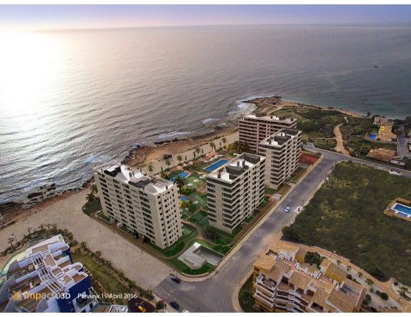 3 bedroom sea front apartments in Punta Prima 32
