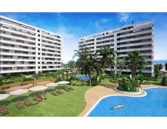 3 bedroom sea front apartments in Punta Prima 17