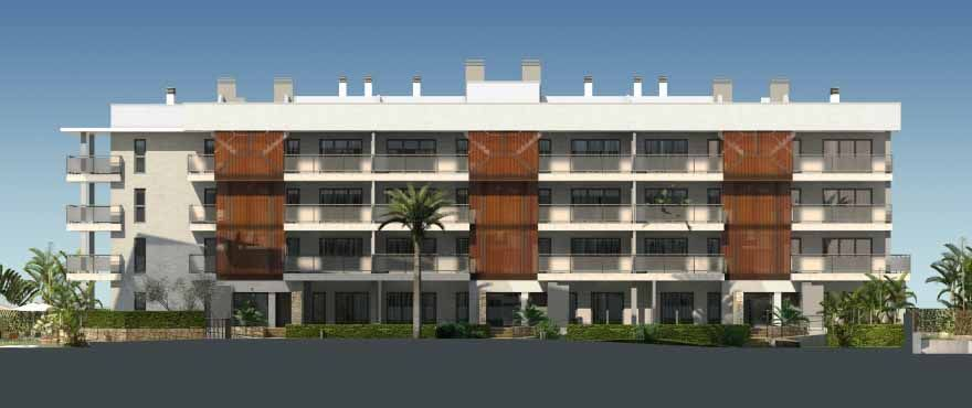 4 and 3 bedroom apartments with terrace nexto Arenal beach in Jávea 4