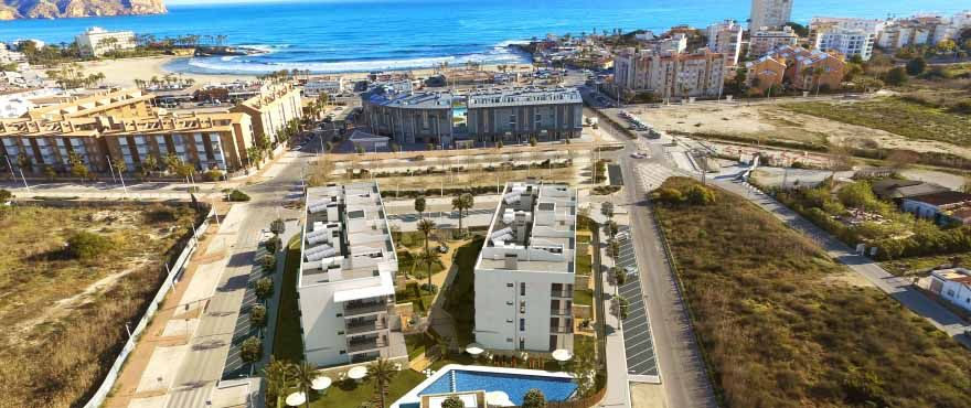 4 and 3 bedroom apartments with terrace nexto Arenal beach in Jávea 5