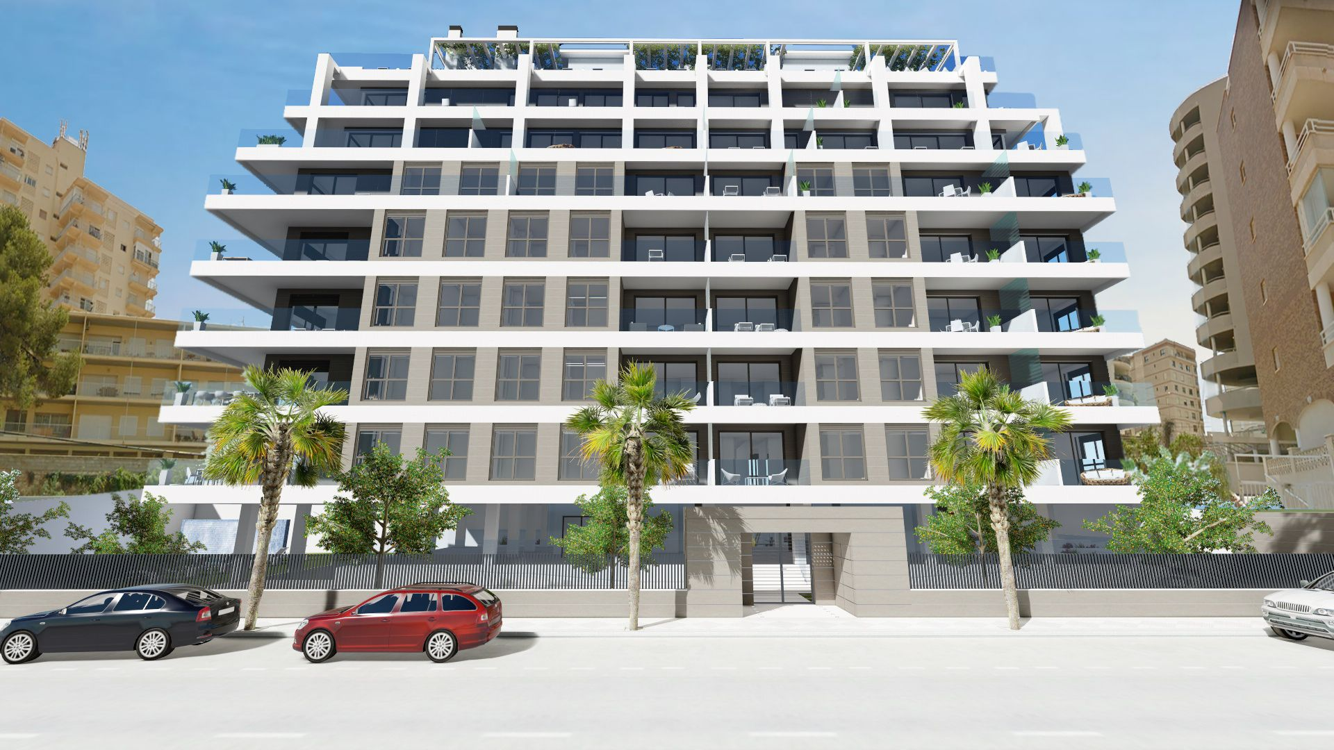 Calpe Beach II - 2 bedroom apartments with sea views and next to the sea and the Ifach Rock on Levante Beach of Calpe 11