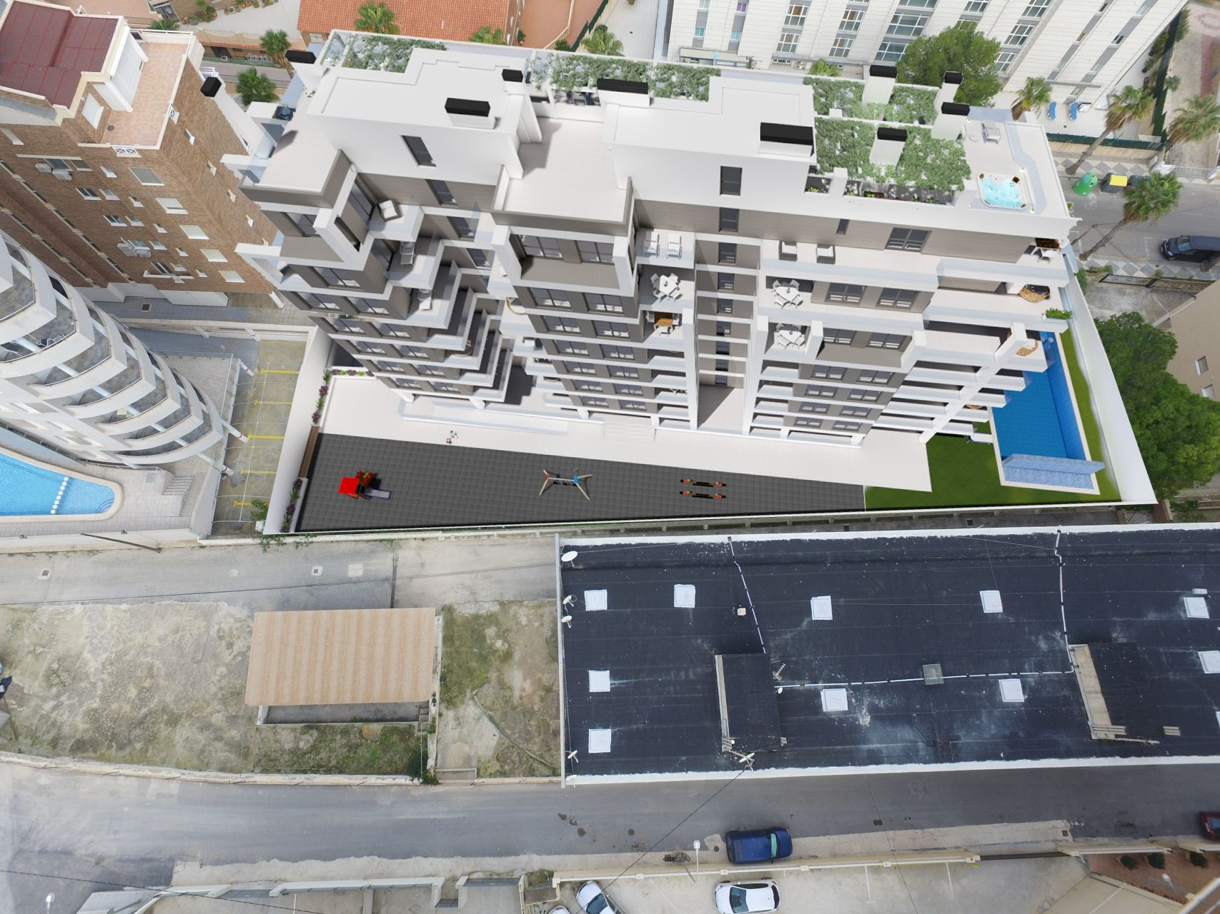 Calpe Beach II - 2 bedroom apartments with sea views and next to the sea and the Ifach Rock on Levante Beach of Calpe 13