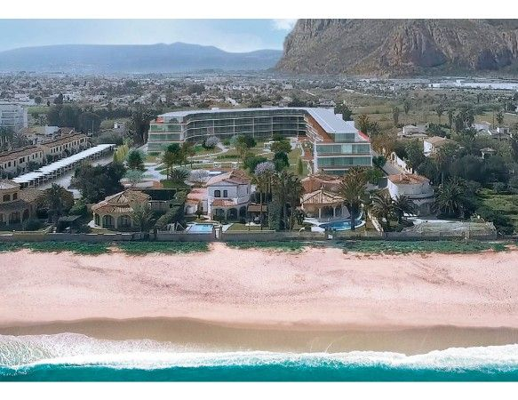 Denia Beach - 1, 2 and 3 bedroom apartments with terrace overlooking the sea or with views over the Montgó mountain, at the beach of La Almadraba beach 3
