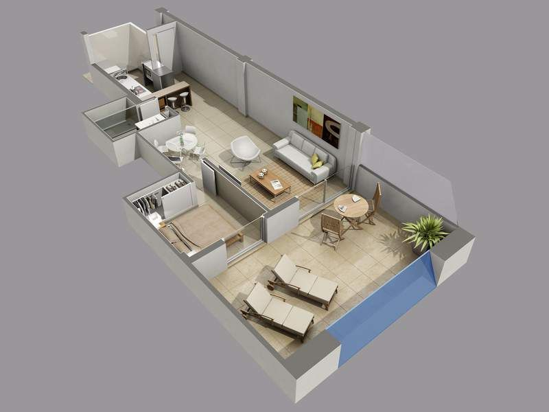 2 bedroom ground floor 5