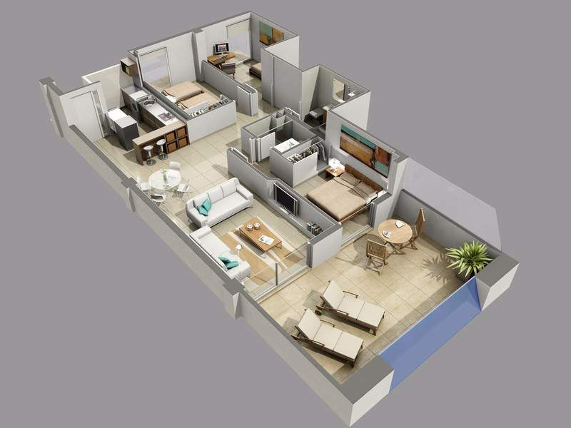 2 bedroom ground floor 6