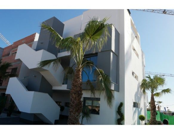 2 and 3 bedroom apartments in urbanization with pool, spa, gym, near the sea. 12