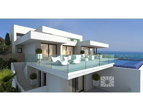 Luxury villas with exclusive plots in Cumbre del Sol urbanization. 4