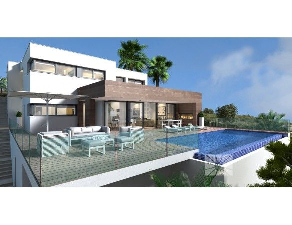 Luxury villas with exclusive plots in Cumbre del Sol urbanization. 7