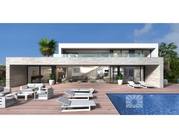 Luxury villas with exclusive plots in Cumbre del Sol urbanization. 9