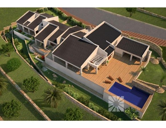 Luxury villas with exclusive plots in Cumbre del Sol urbanization. 11