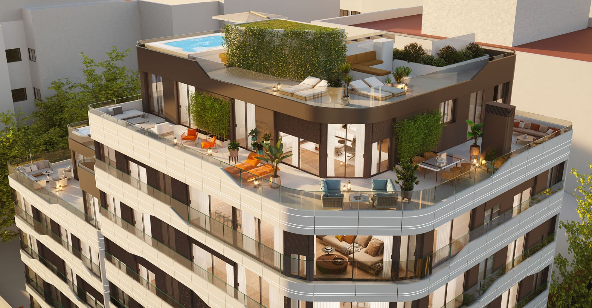 Apartments in the city of Alicante 3