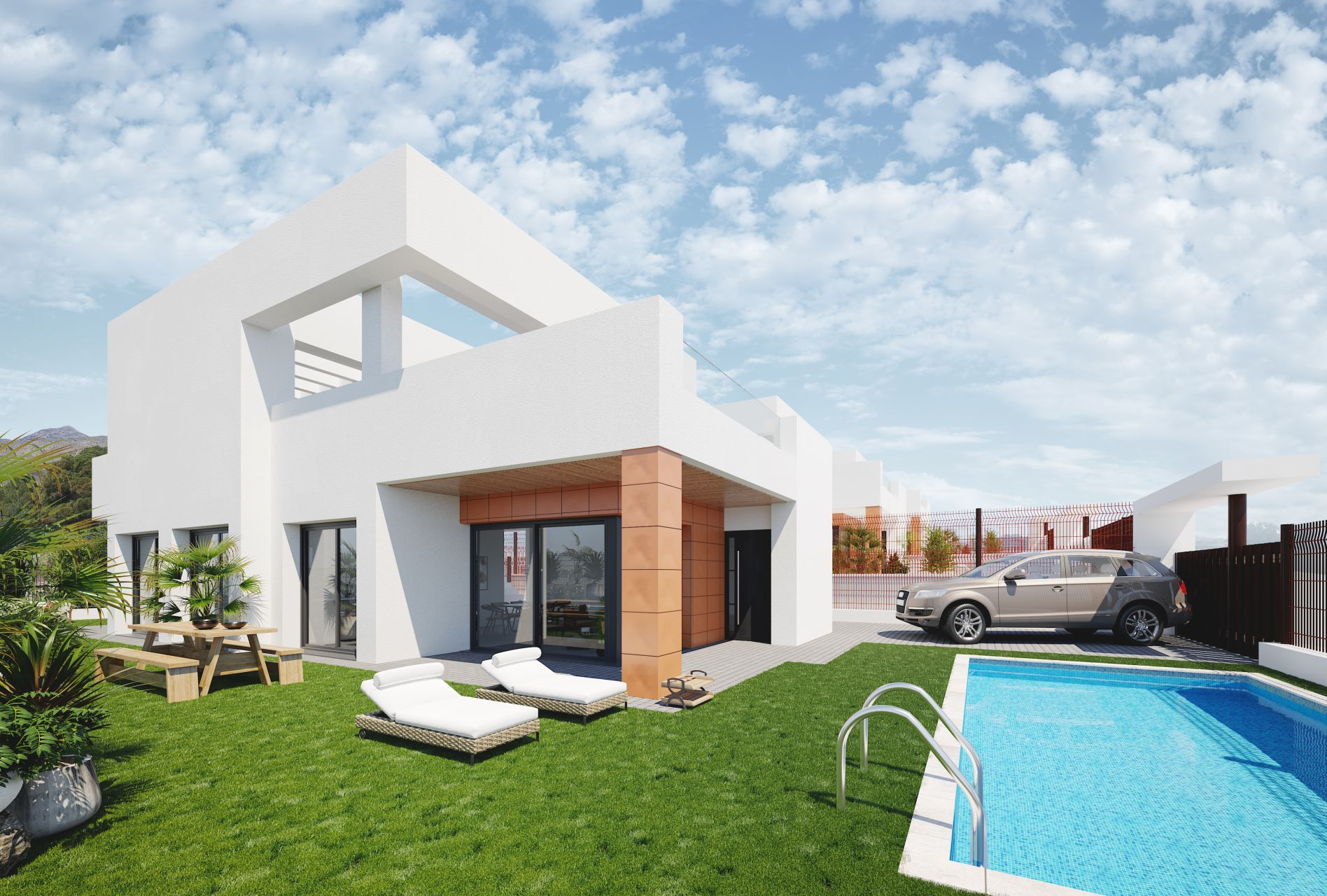 Villas unifamiliares en Finestrat 1