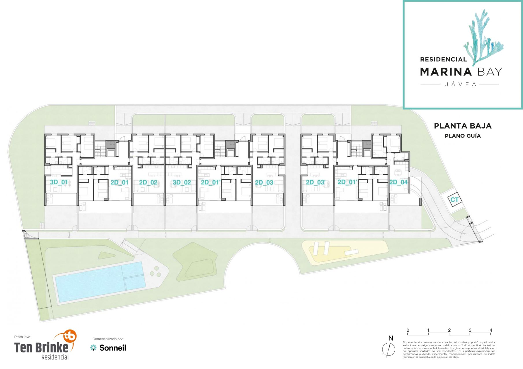 27 apartments next to Jávea Marina 15