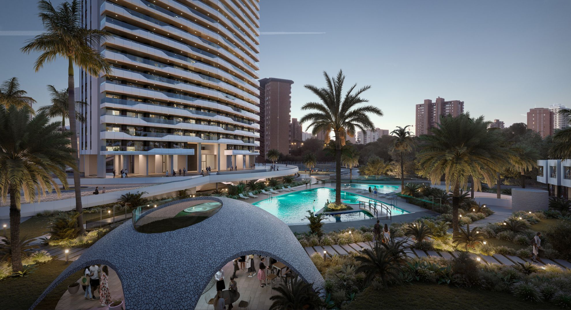 Exclusive apartments in the beautiful location of Benidorm 1