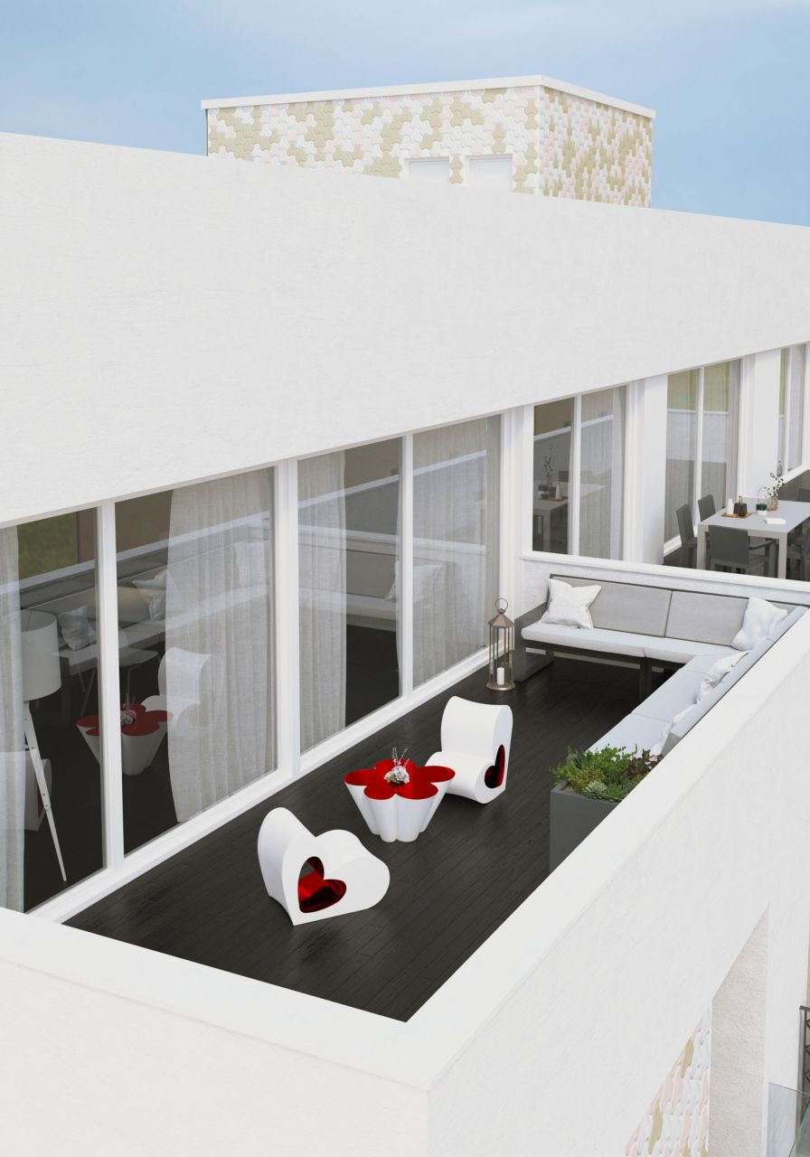 3 bedroom apartment in Torrevieja with communal swimming pool and chill-out on the roof 2