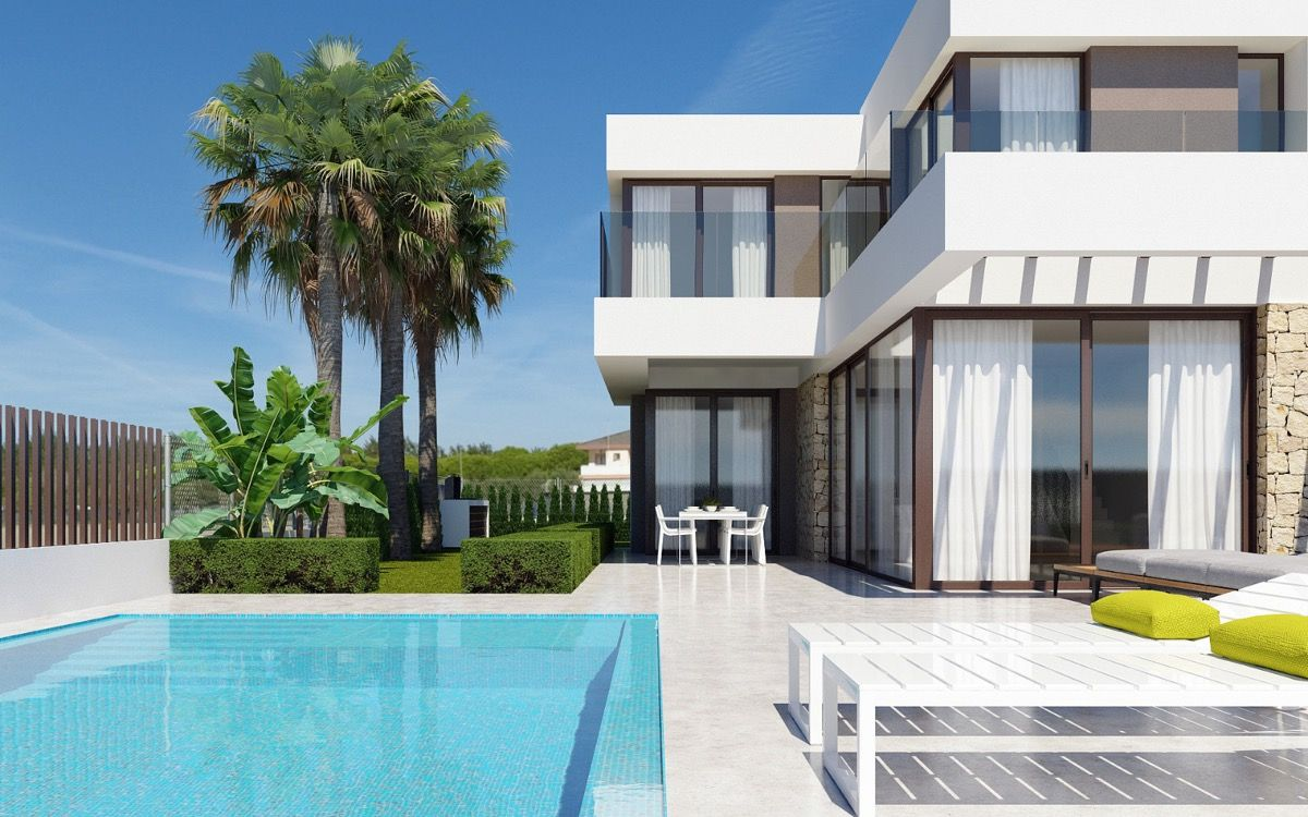 3 bedroom villa with private pool, garden and sea views 2