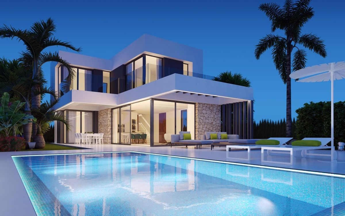 3 bedroom villa with private pool, garden and sea views 3