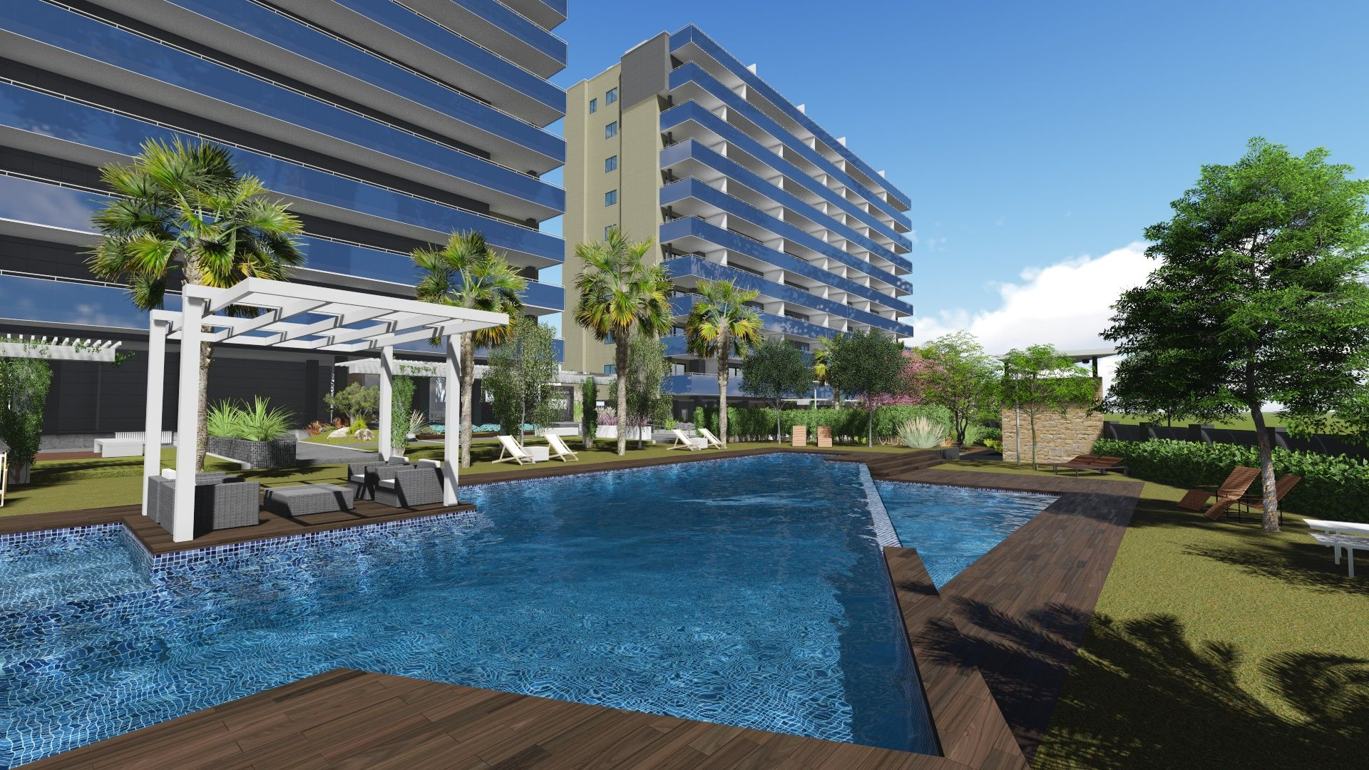 Flats up to 3 bedrooms next to Campello beach 1