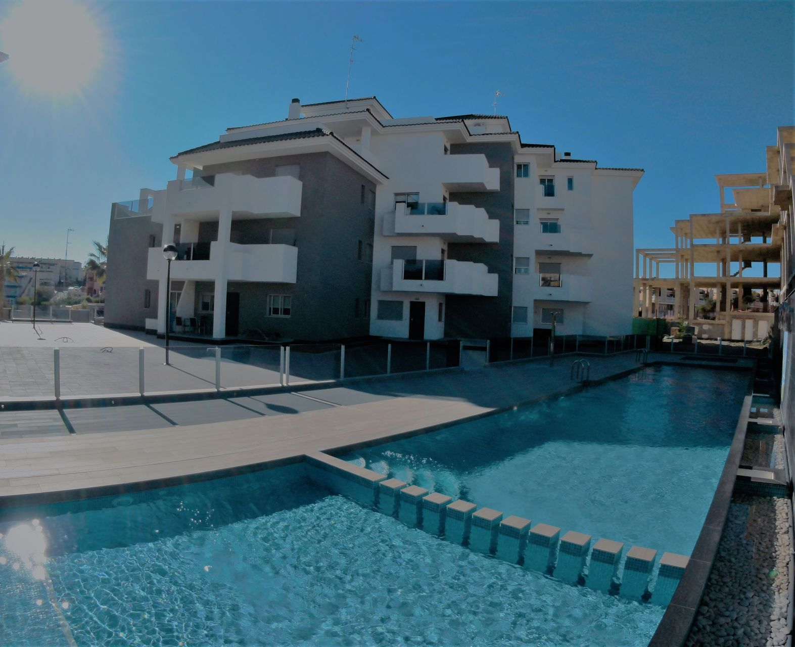 1, 2 or 3 bedrooms apartments in Orihuela 2