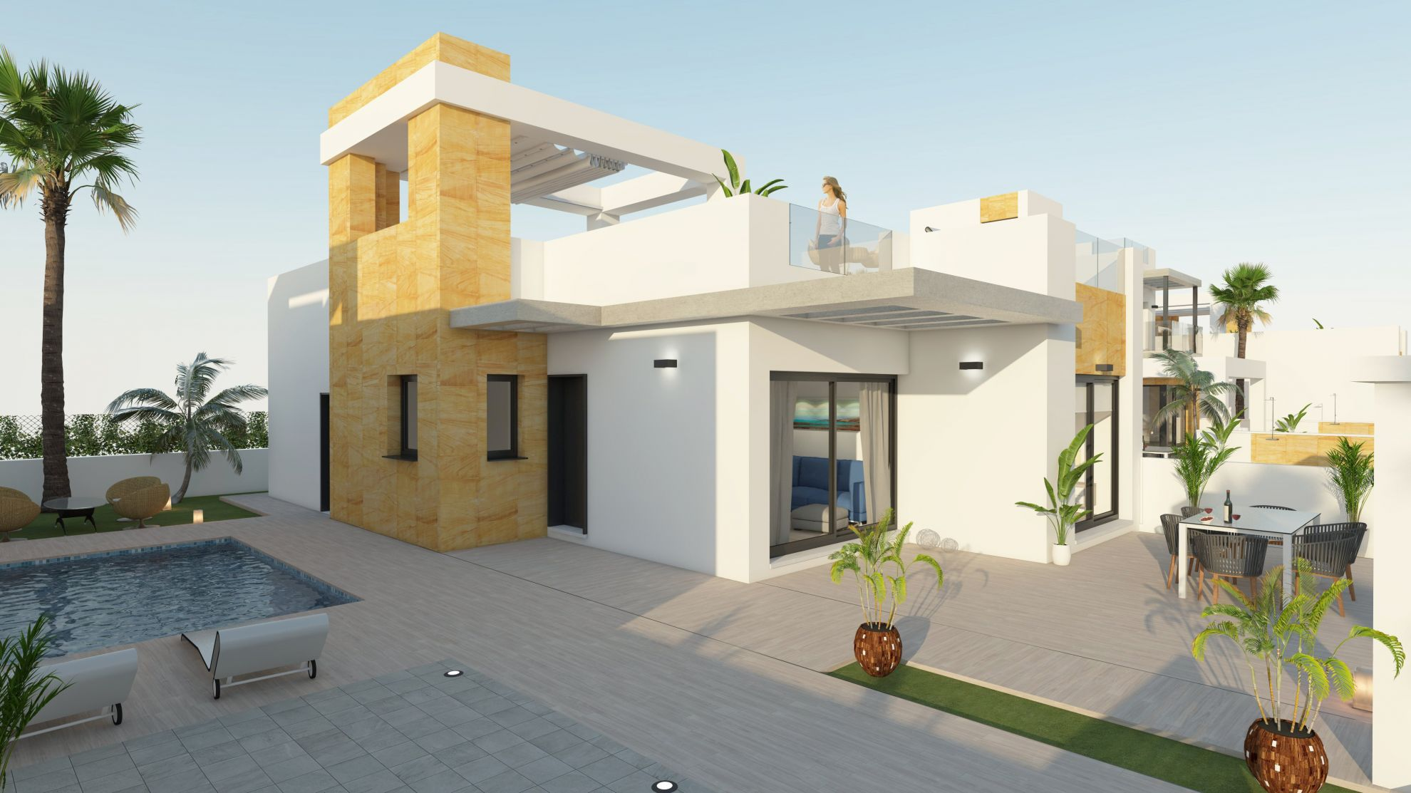 Exclusive villas of 1 or 2 floors in Torrevieja 7