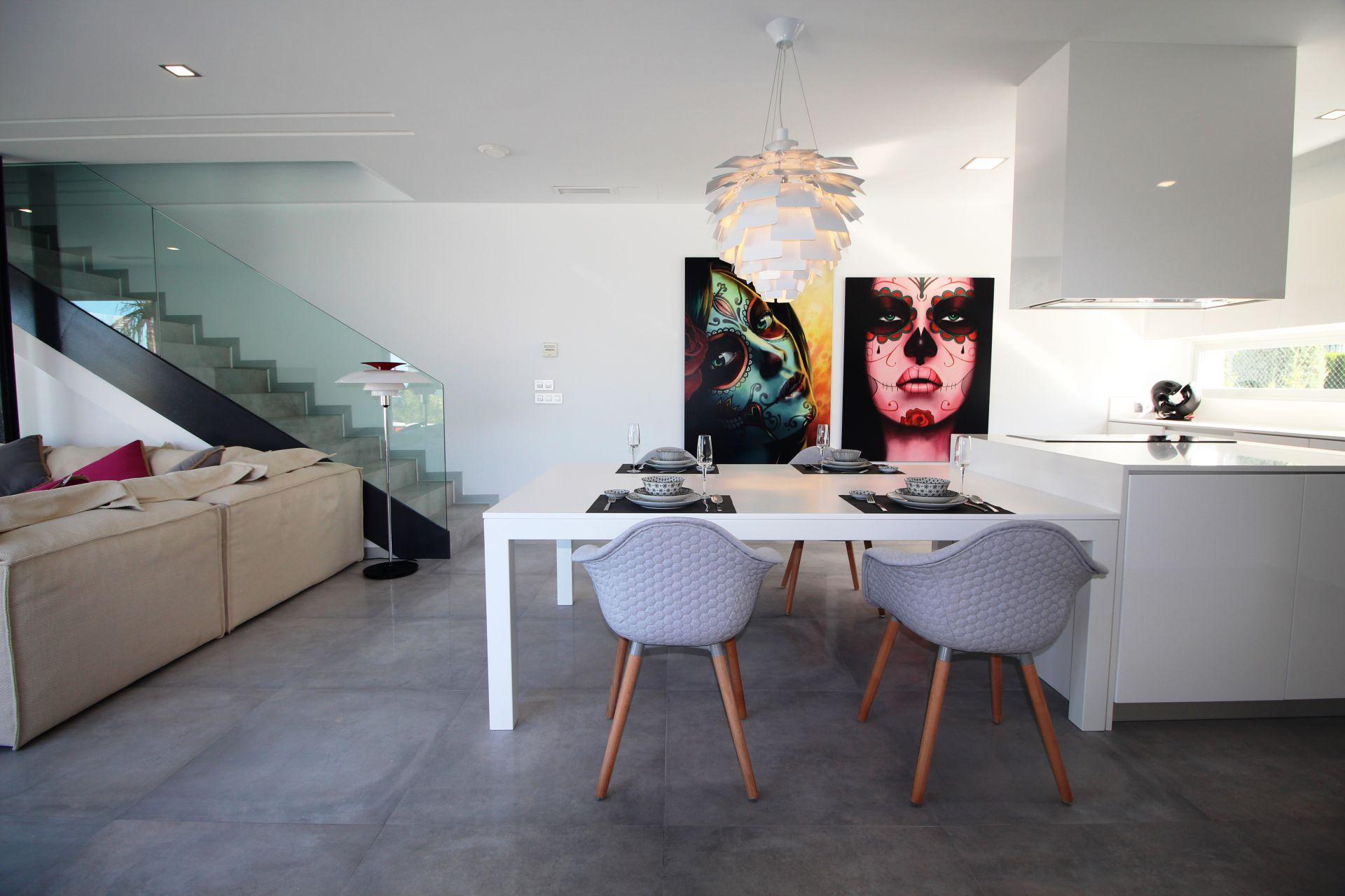 Exclusive villas with 3 bedrooms in Finestrat 5