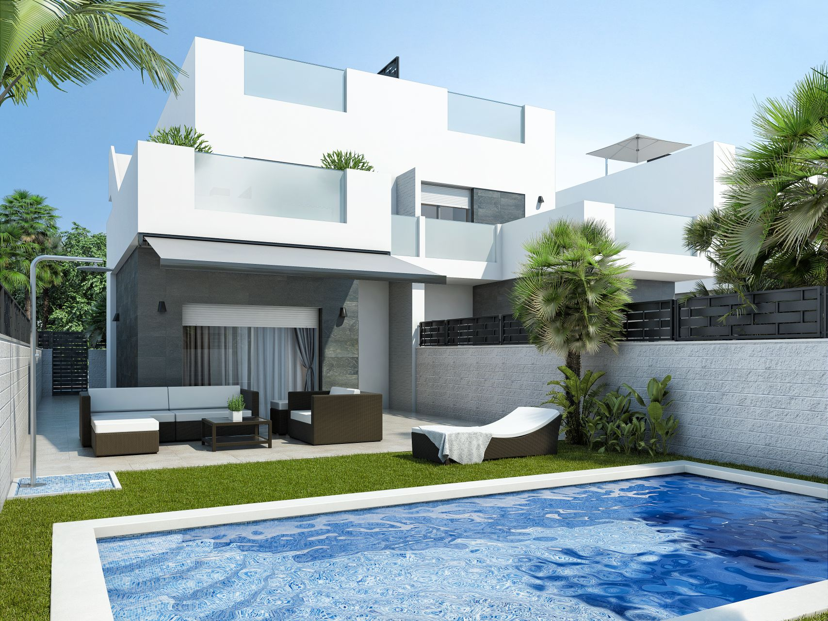 Apartments and villas luxury in Ciudad Quesada 1