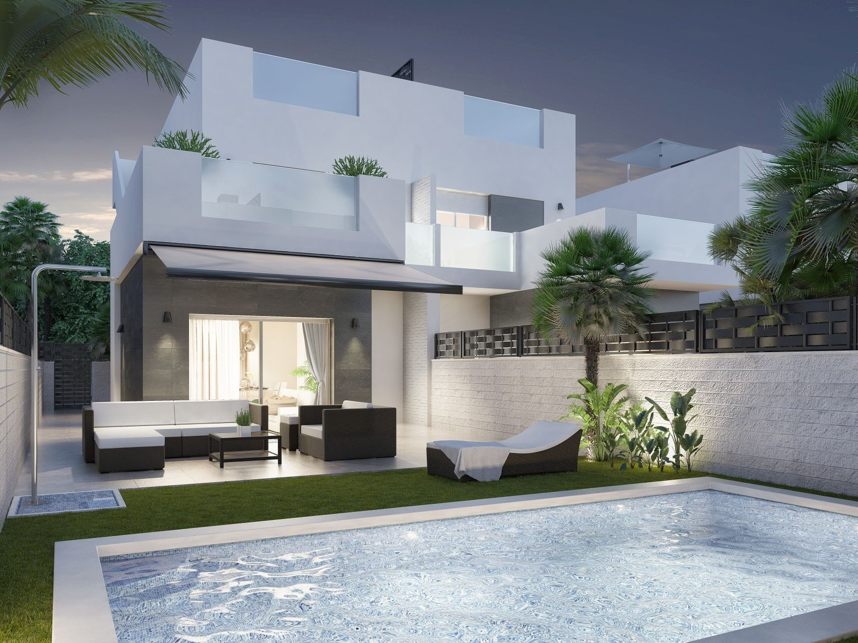 Apartments and villas luxury in Ciudad Quesada 2