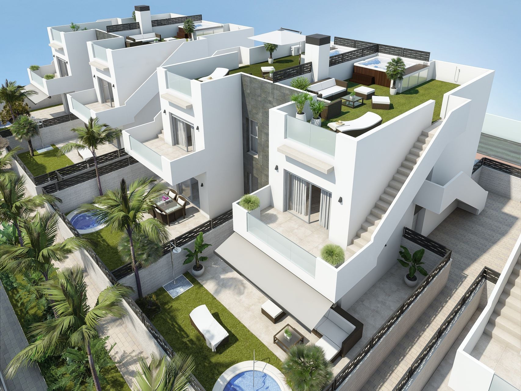 Apartments and villas luxury in Ciudad Quesada 24