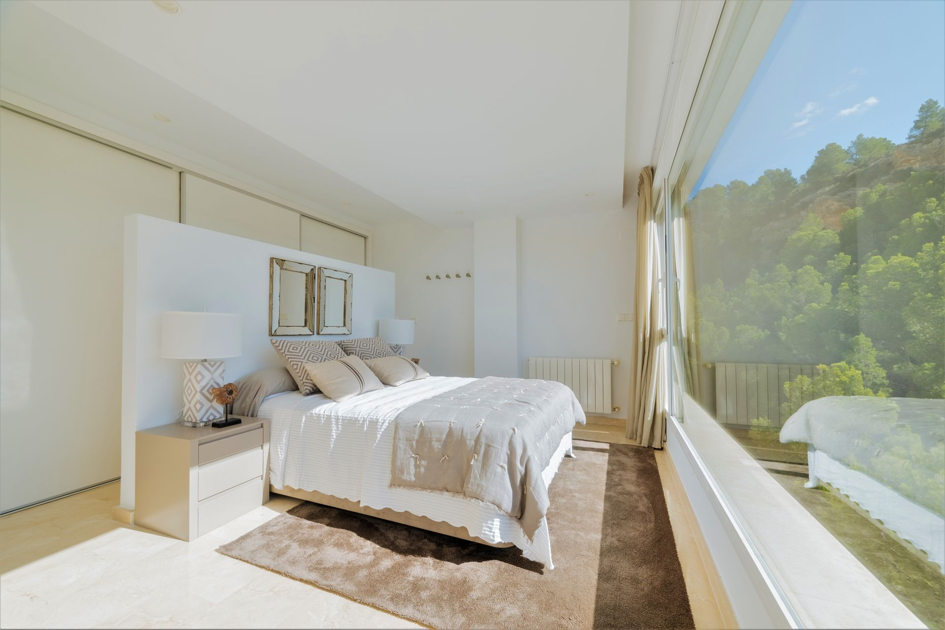 Villas with incredible views to the Mediterranean Sea in Altea 29