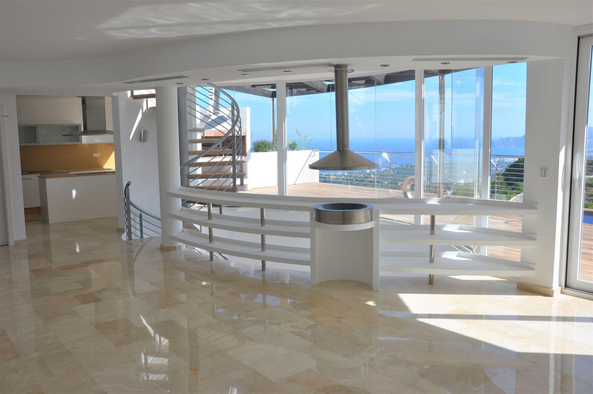 Villas with incredible views to the Mediterranean Sea in Altea 13