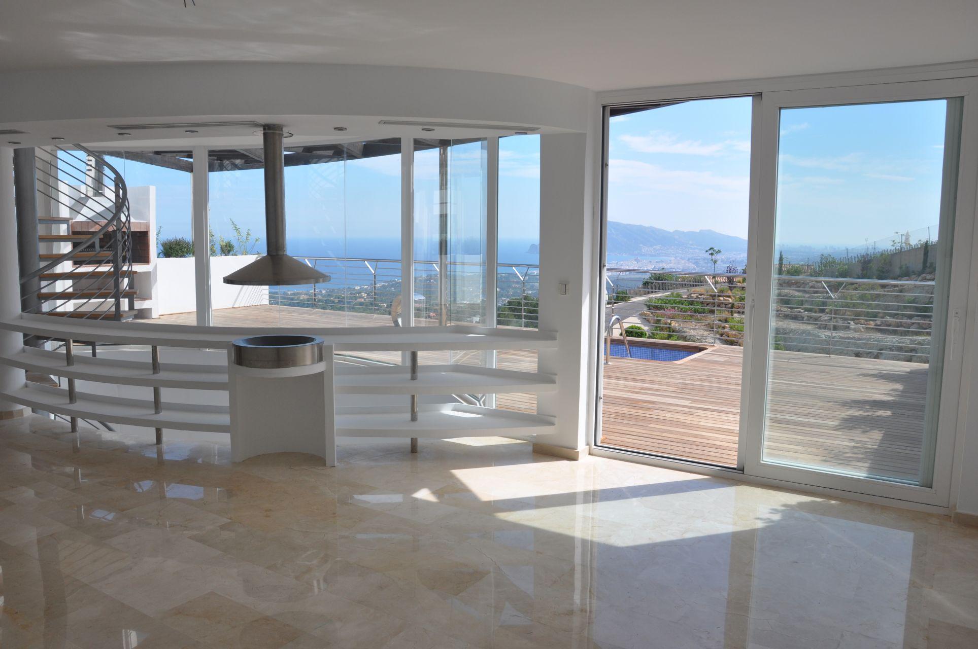 Villas with incredible views to the Mediterranean Sea in Altea 14