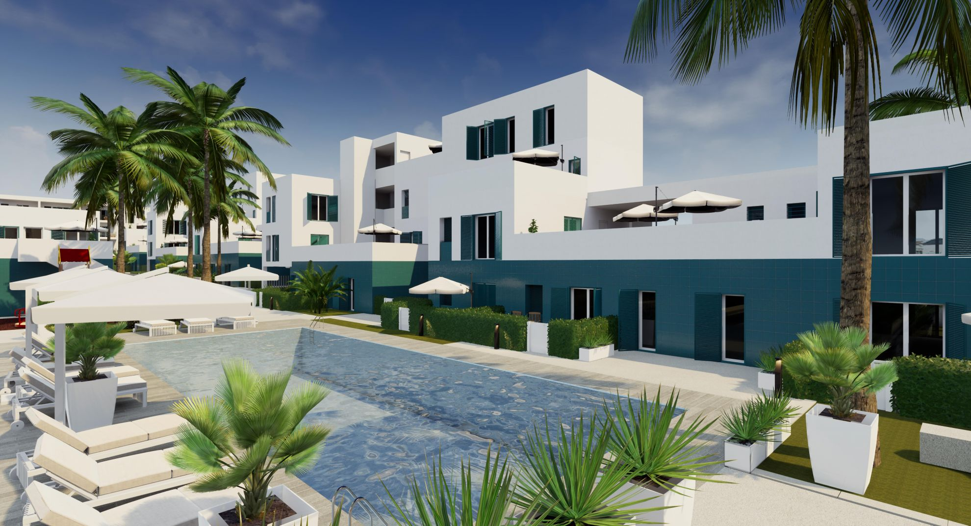 Apartments in Playa Flamenca 11