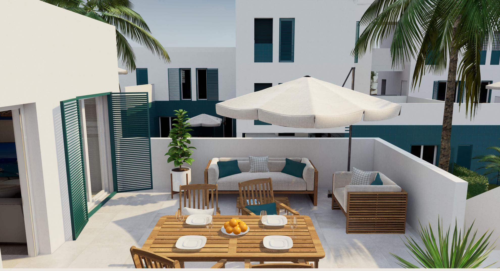 Apartments in Playa Flamenca 12