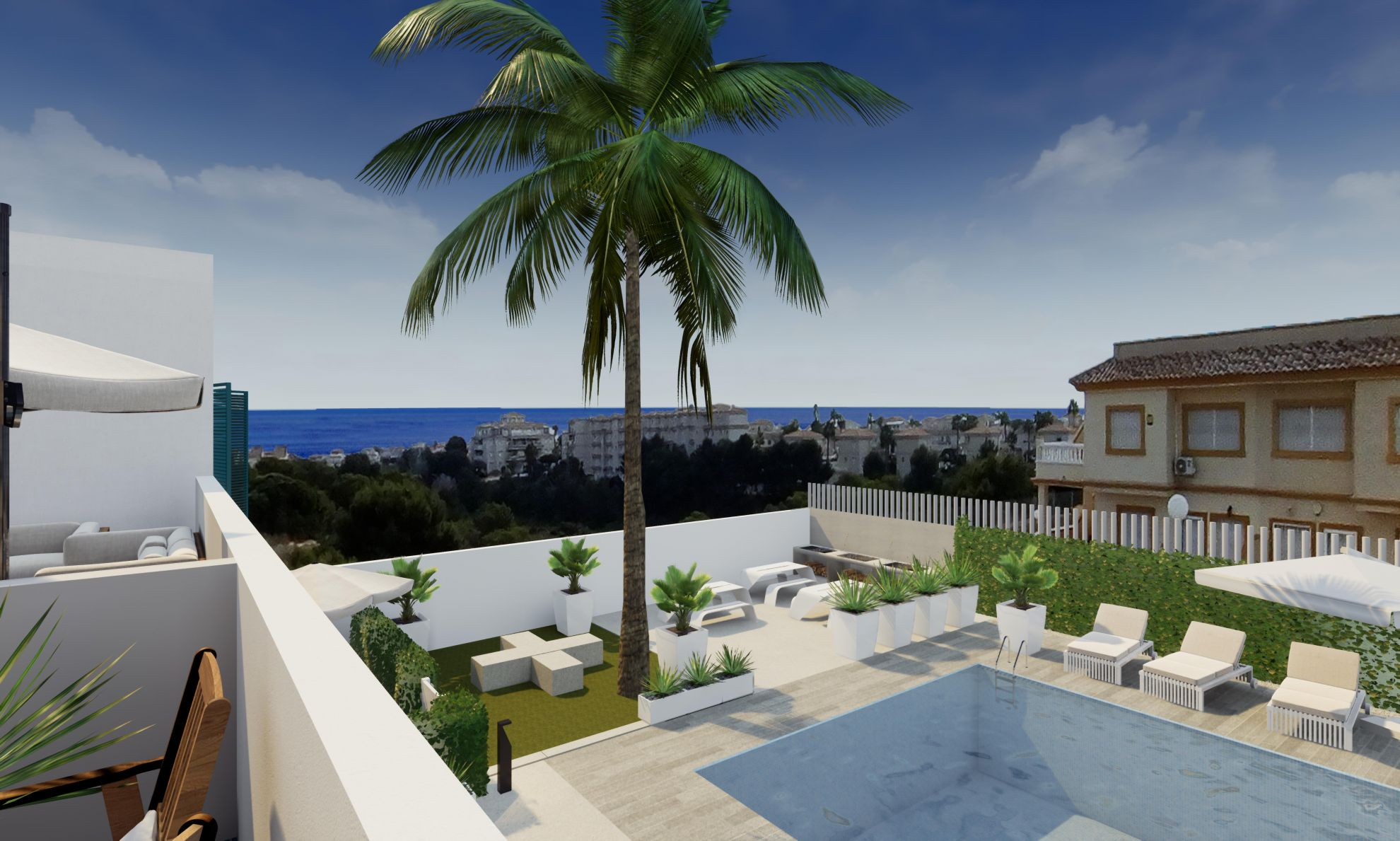 Apartments in Playa Flamenca 4