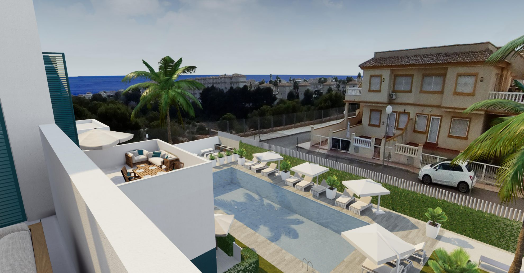 Apartments in Playa Flamenca 17