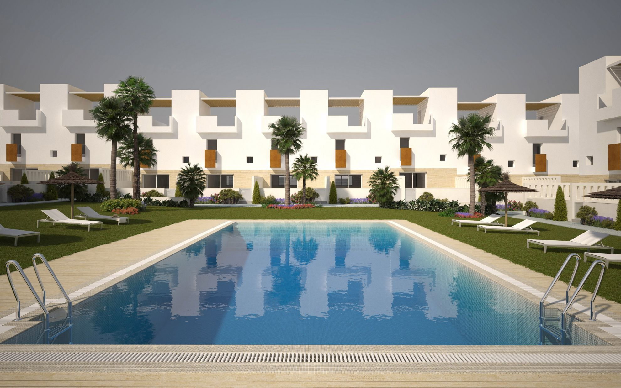 Duplex townhouses in Torrevieja 1