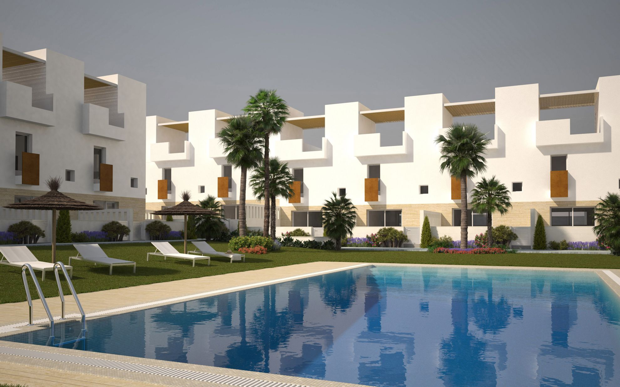 Duplex townhouses in Torrevieja 2