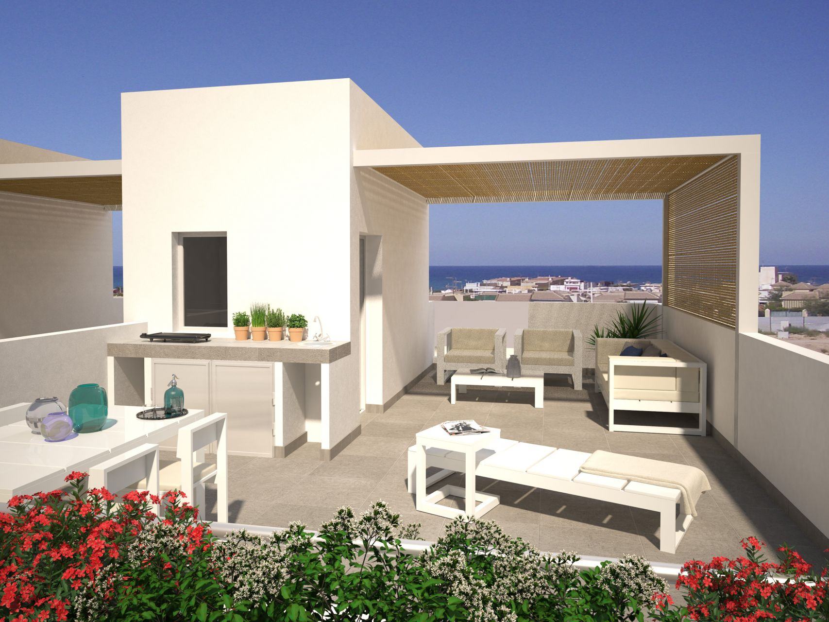 Duplex townhouses in Torrevieja 8
