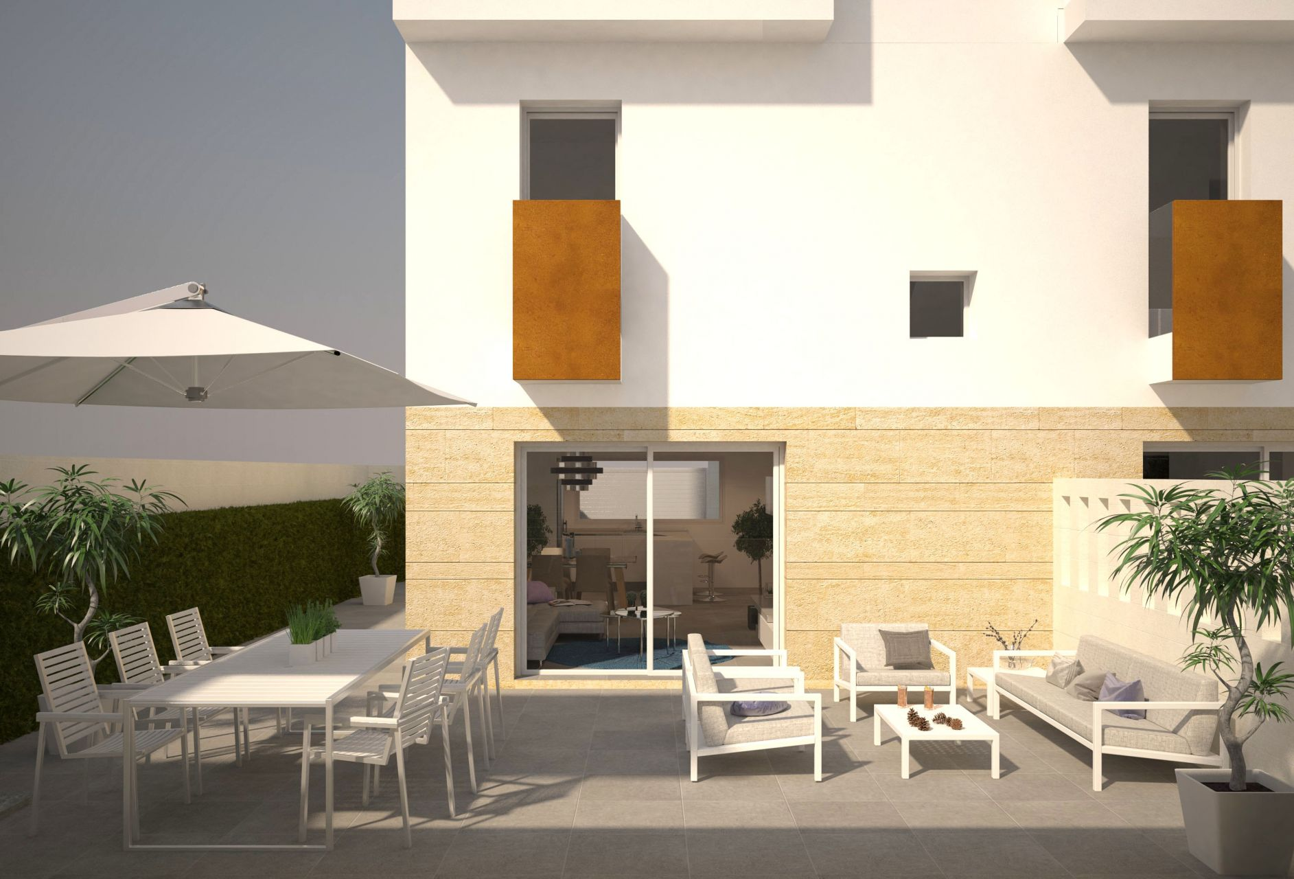 Duplex townhouses in Torrevieja 9