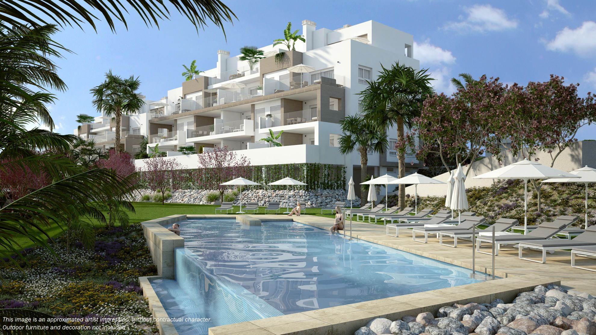 Apartments in Villamartin 1