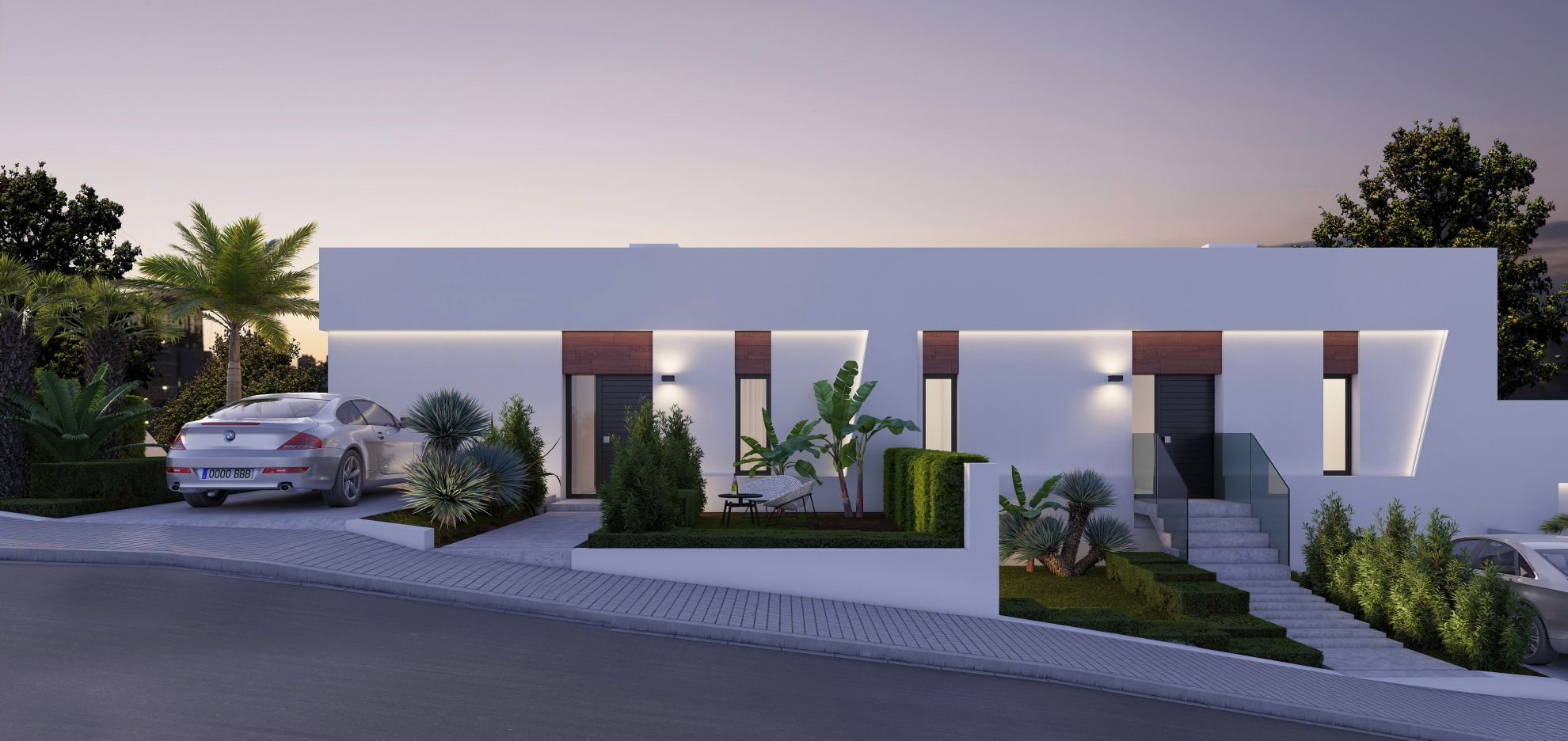 Semi detached villas in Finestrat 5