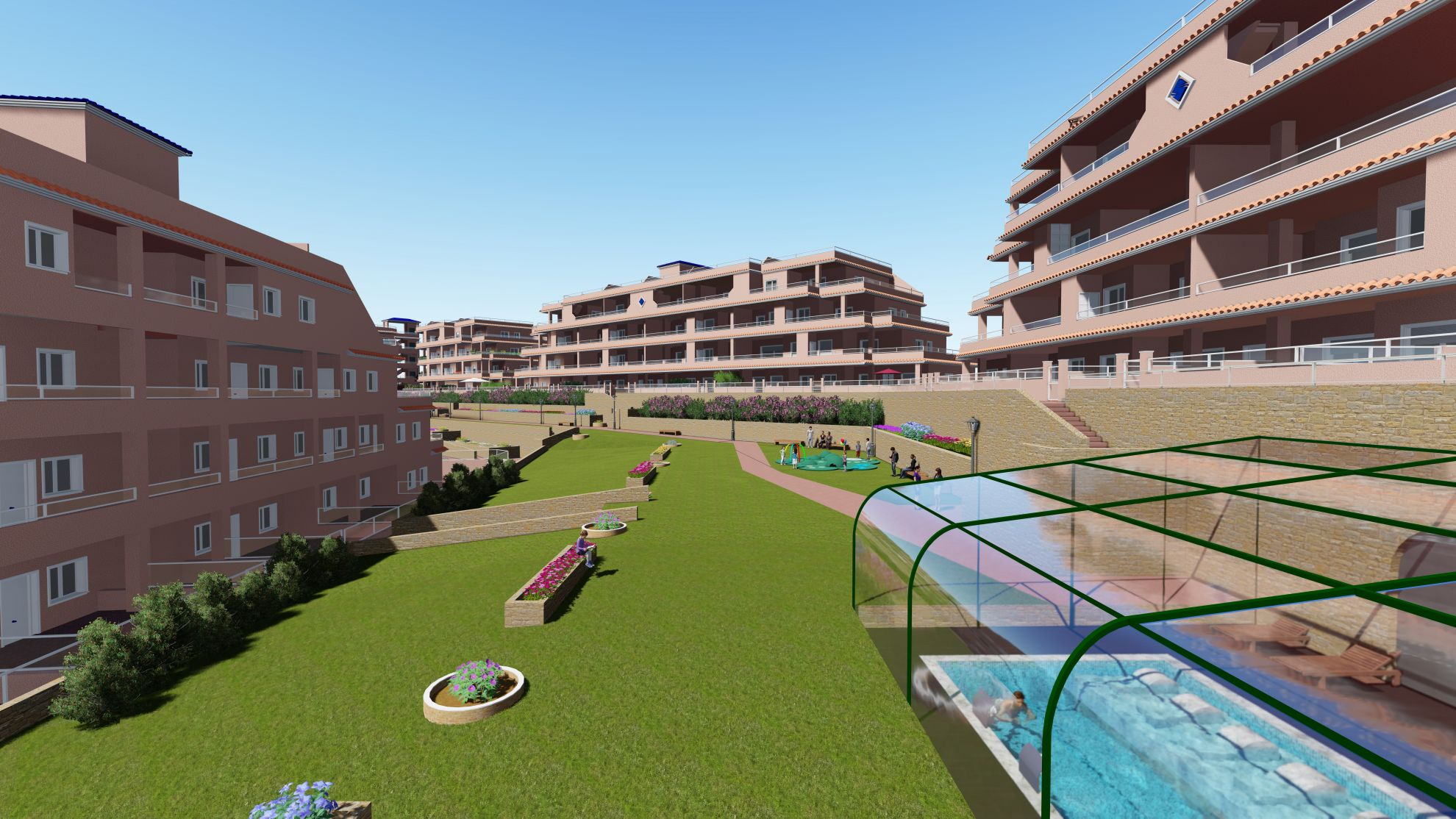 Apartments and penthouses in Villamartin 2