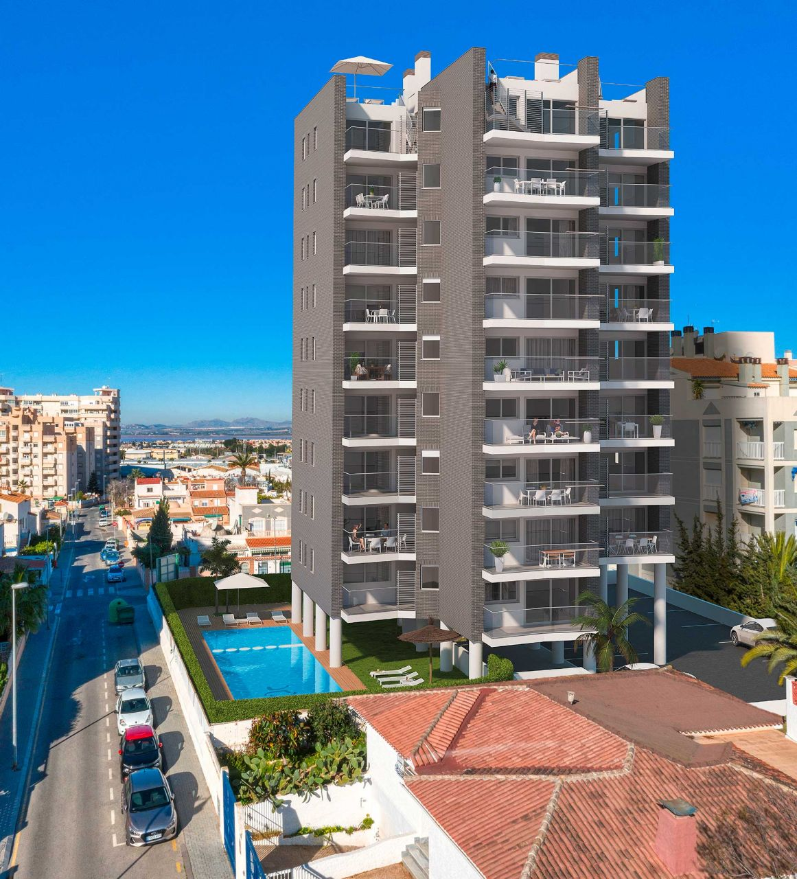 Apartments in the center of Torrevieja 1