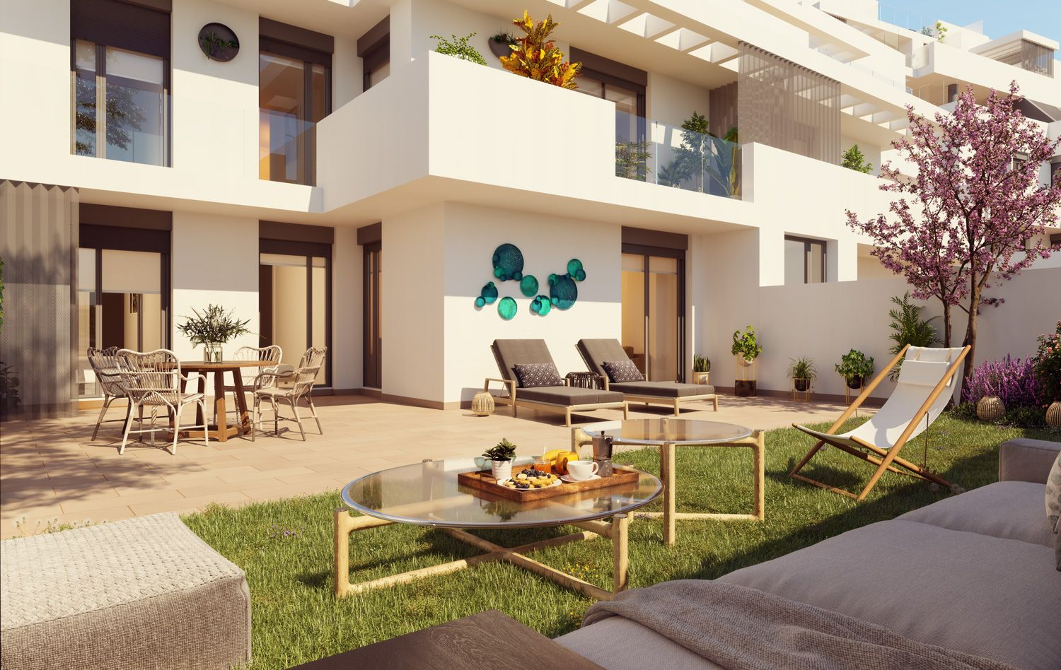 Apartments with views over golf courses in Estepona 21