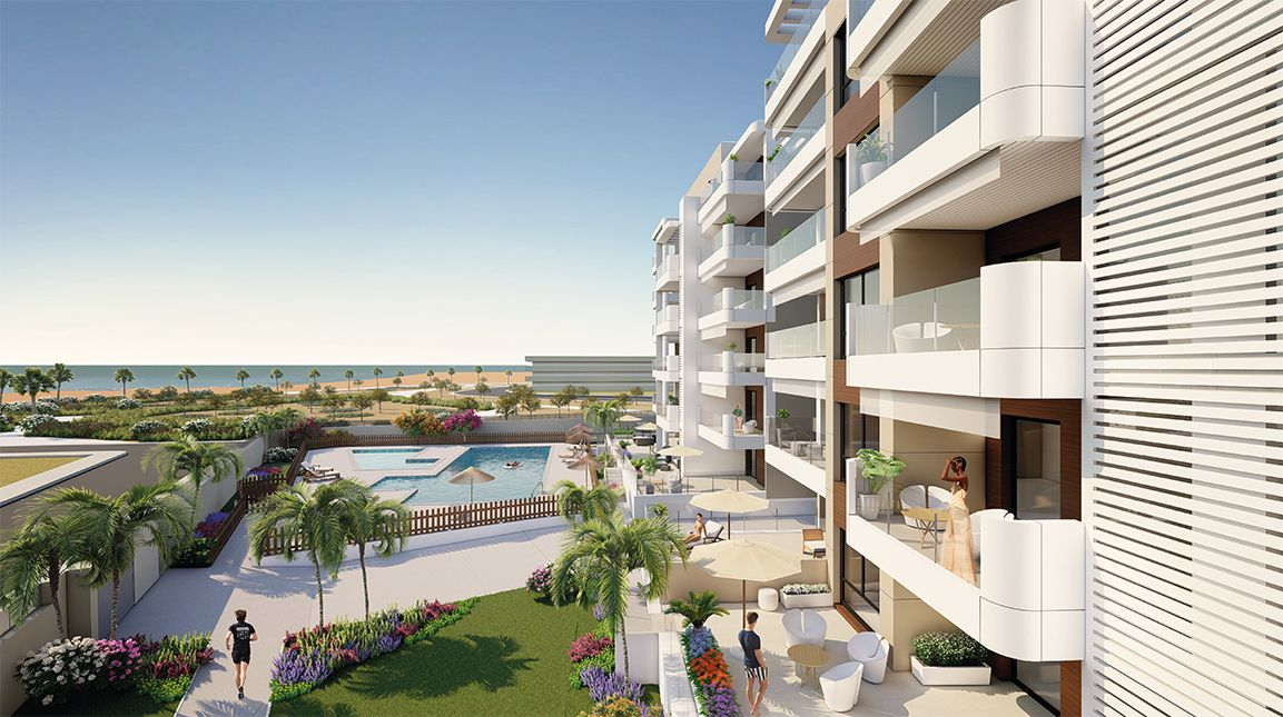 Apartments in Torre de la Horadada 1