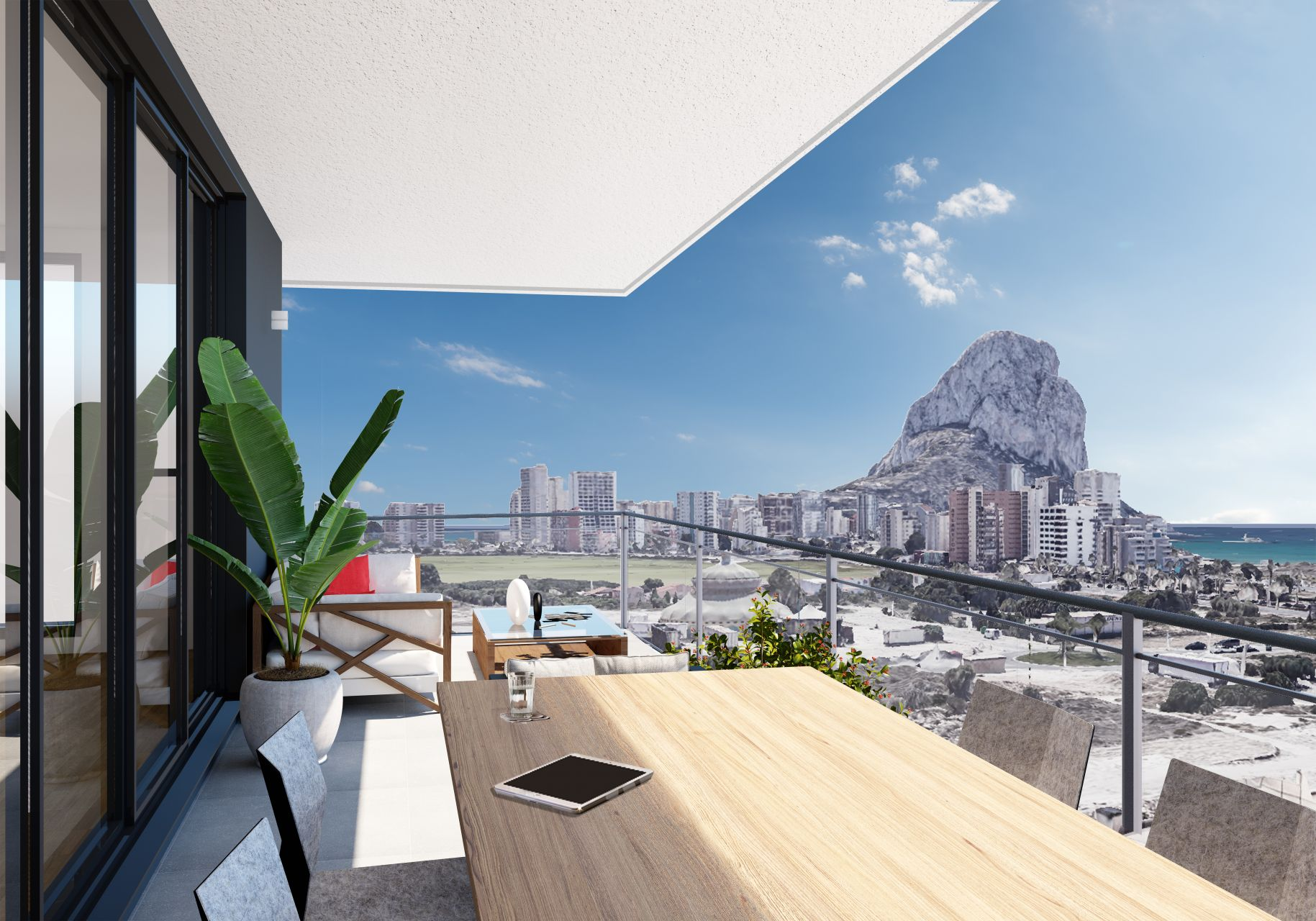 Apartments in Calpe 1