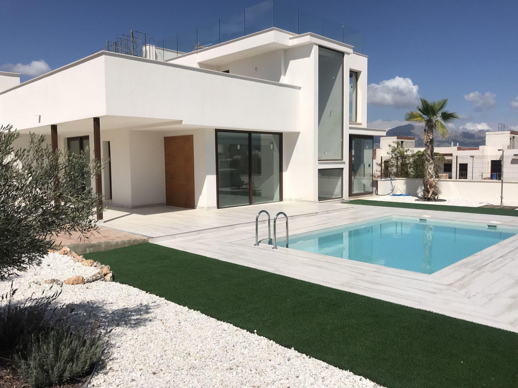 Villas in Polop 1