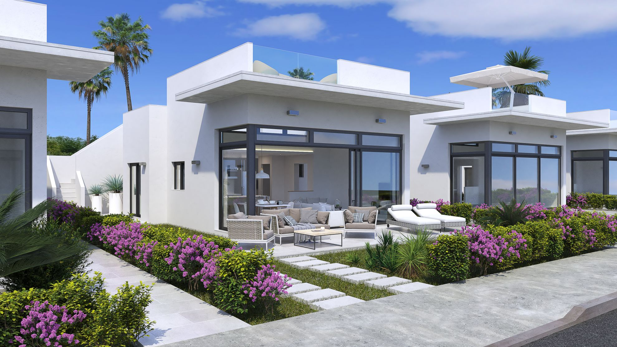 Villas in the Condado de Alhama 4